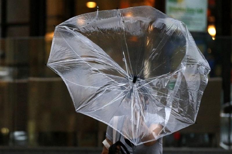 16日天气:全国大部分地区出现降雨和强风