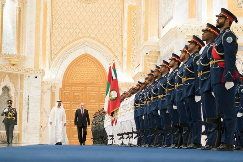 UAE and Russia sign deals worth $1.3bn during Putin's Abu Dhabi visit