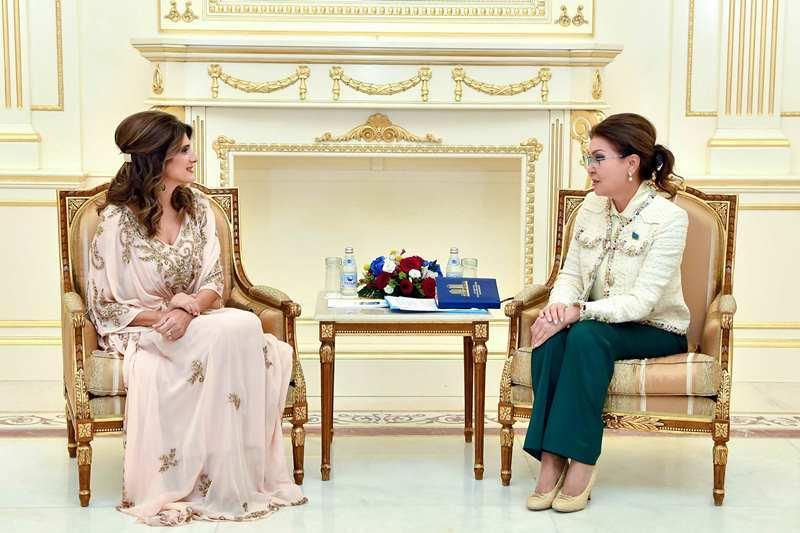 Дарига Назарбаева провела ряд встреч на полях Всемирного саммита лидеров по борьбе с раком
