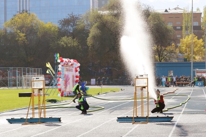 День спасателя отметили в Алматы