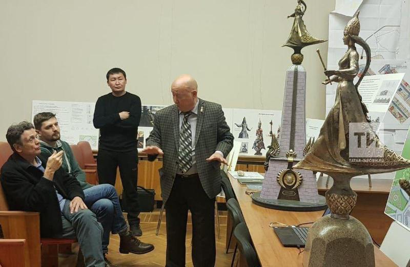 Заслуженный деятель искусств Казахстана установит скульптуру царицы Сююмбике в Казани