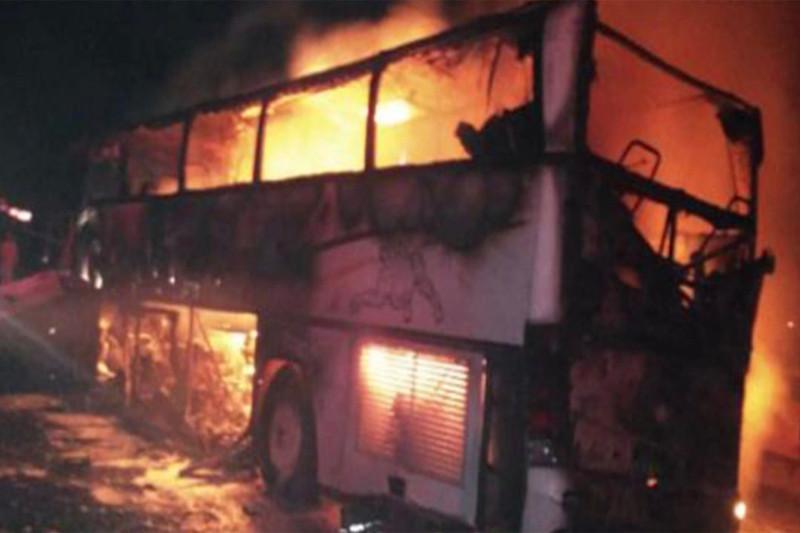 35 паломников погибли в ДТП в Саудовской Аравии