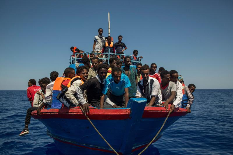 Libya says 82 illegal immigrants rescued off western coast