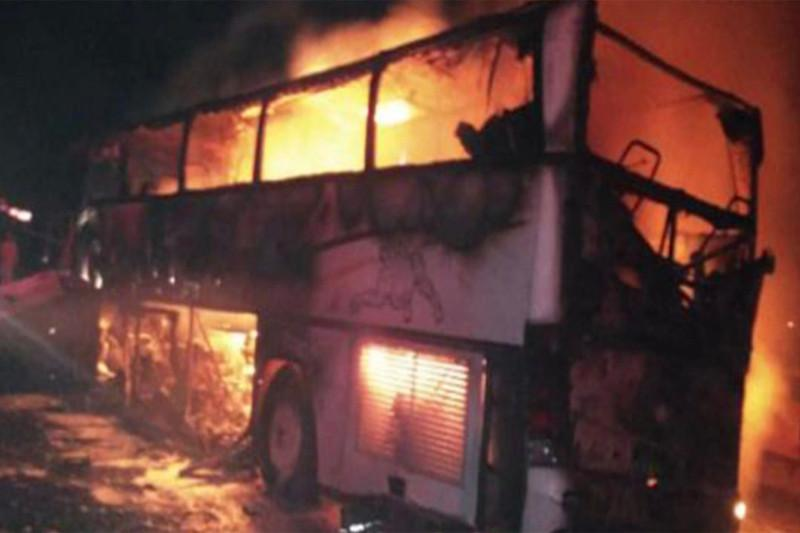 沙特一载有朝圣者的巴士与卡车相撞致35人死亡