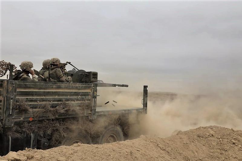 Войска противовоздушной обороны выполнили боевые и учебные стрельбы