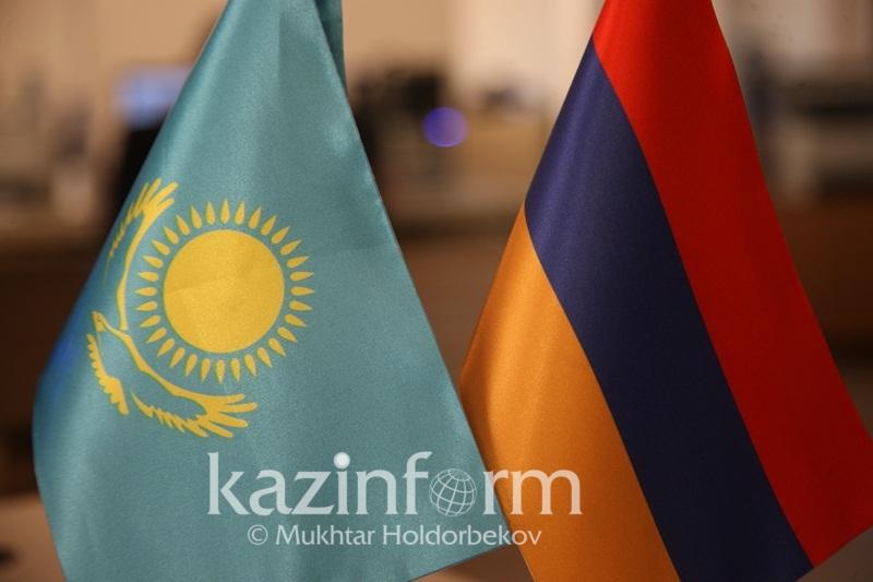 Qazaqstan men Armenııa tótenshe jaǵdaıdaǵy ózara kómekti naqtylady