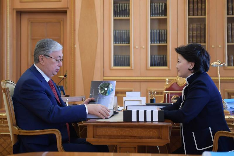 Kazakh President receives Culture Minister