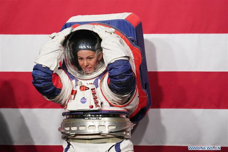 NASA unveils new spacesuits for human lunar landing