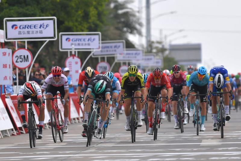 Gree-Tour of Guangxi. Astana's Ballerini tenth, Stage 1
