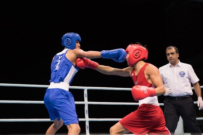 亚洲青少年拳击锦标赛 哈萨克斯坦男队获得4枚金牌