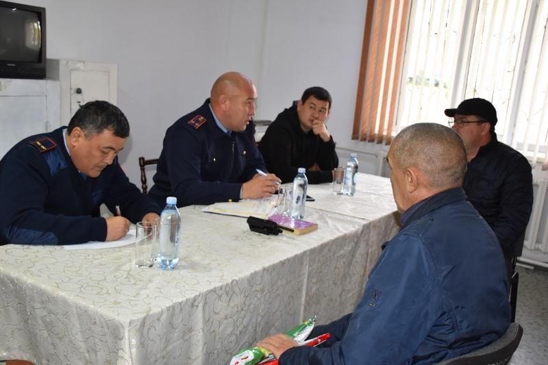Герои сериала «Патруль» приняли участие в полицейской акции в Талдыкоргане