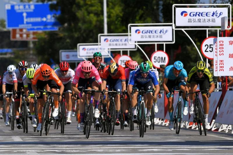 Gree-Tour of Guangxi. Top Five for Astana's Ballerini. Stage 2