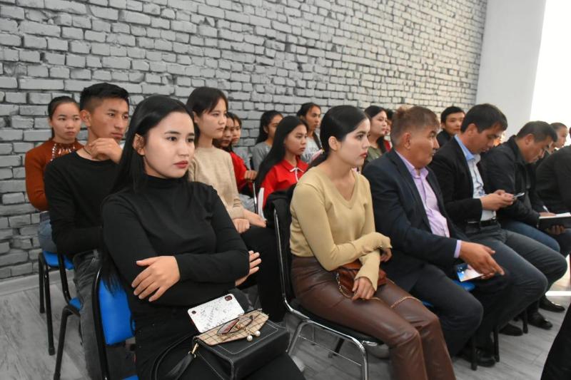 В Туркестане прошла первая встреча в рамках проекта «Ұлағатты ұрпақ»