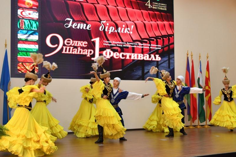 Almatyda túrki álemi kınofestıvali ótýde