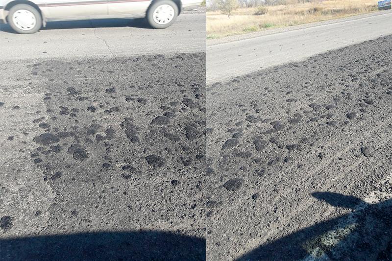 Подрядчики ответят за некачественный ремонт автодороги в Карагандинской области