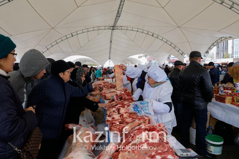 С 15%-ной скидкой продают свою продукцию акмолинские сельхозтоваропроизводители в Нур-Султане
