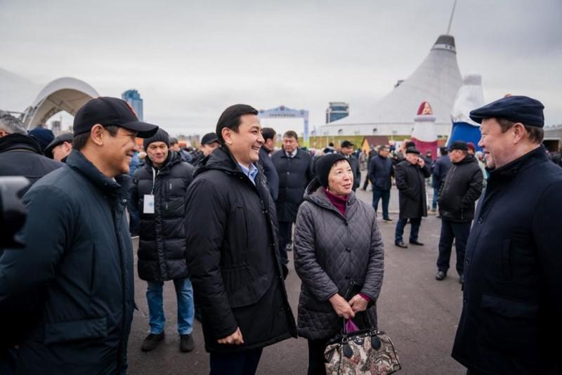 Аким столицы поблагодарил регионы за участие в сельскохозяйственной ярмарке
