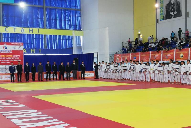 Ақтауда дзюдодан халықаралық турнир басталды