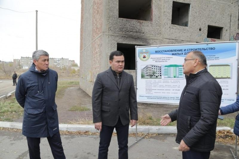 Пустующие многоэтажки начнут восстанавливать в Шахтинске