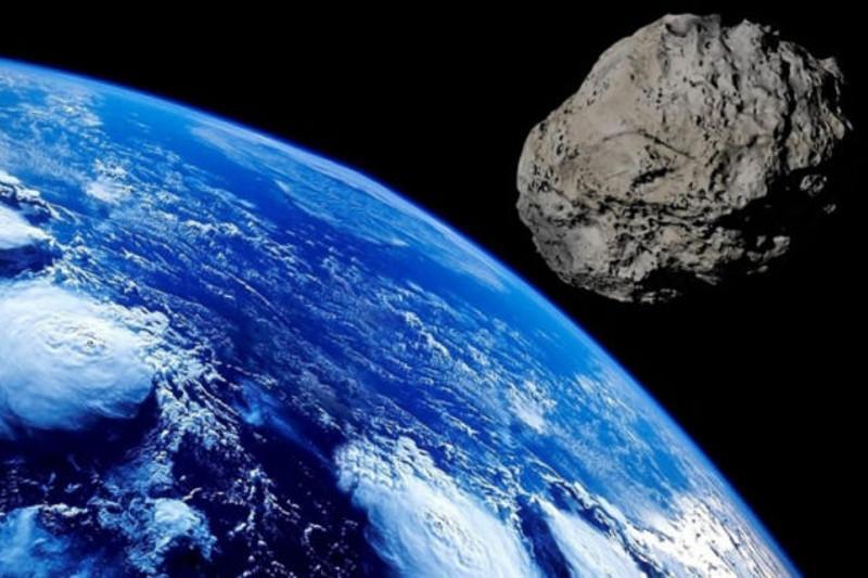 一颗直径1公里的小行星正向地球飞来
