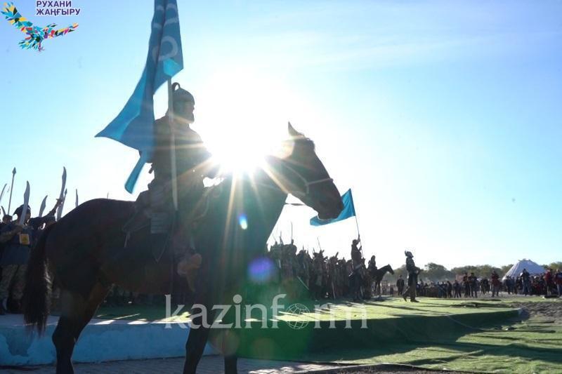 Знаменитое Орбулакское сражение реконструировали в Алматинской области