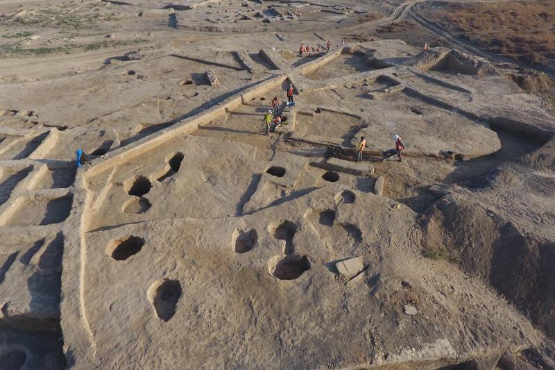 Новые находки в городище Культобе-Ясы: крепостные стены и керамические печи