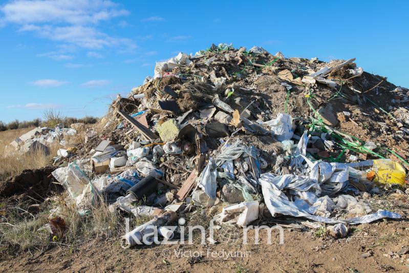 Государственные экологи обнаружили 431 несанкционированную свалку в Нур-Султане