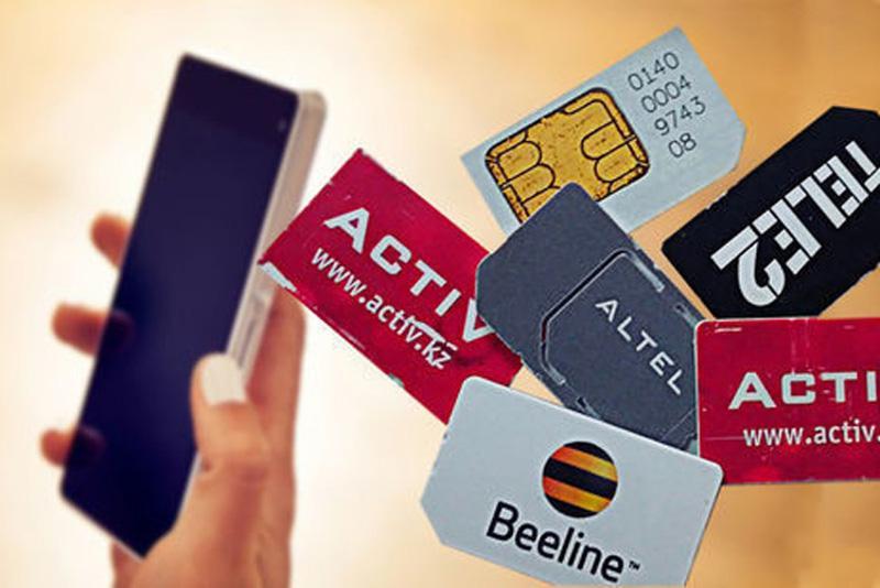 Елордада SIM-карта сататындар тексеріледі