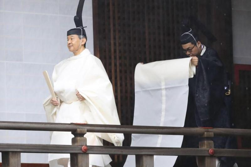 Japan's Emperor Naruhito to announce enthronement in ancient-style ceremony