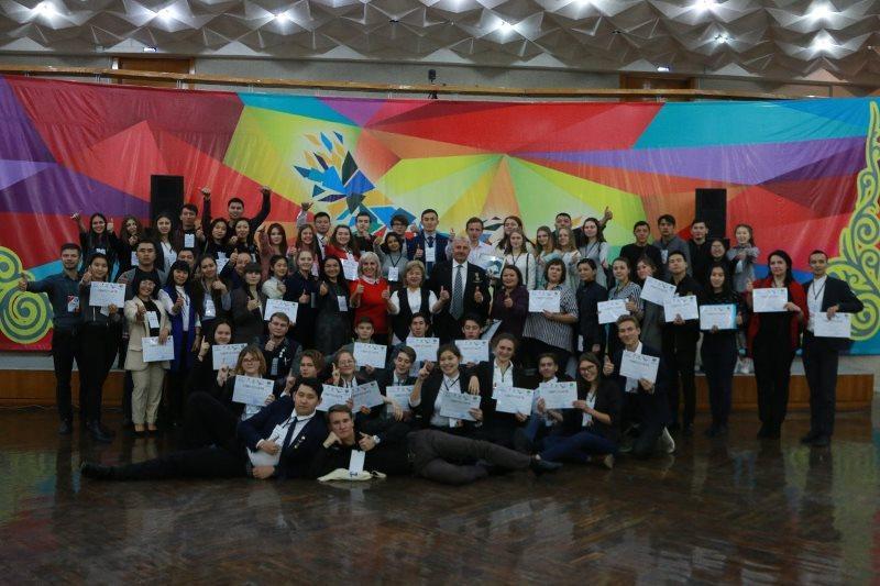 Молодежный форум «Volunteer.KZ» стартовал в Акмолинской области