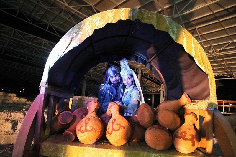 Таразда «Көне шаһардағы мың бір түн» атты музей түні өтті