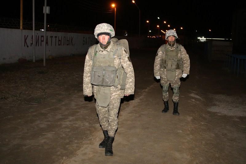 Противодиверсионную безопасность воинских частей проверили вАтырауском гарнизоне