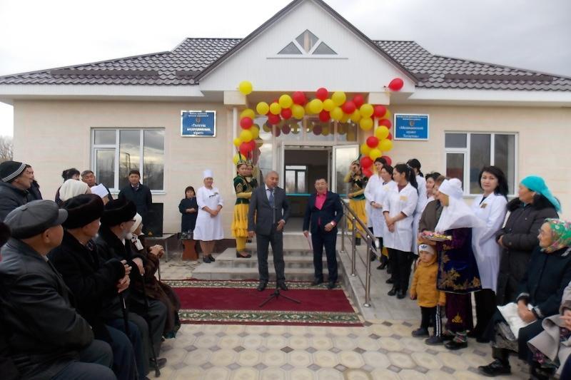 Биыл Жамбылда 65 медициналық нысан пайдалануға беріледі