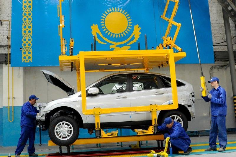 Казахстанцы стали чаще покупать автомобили местной сборки