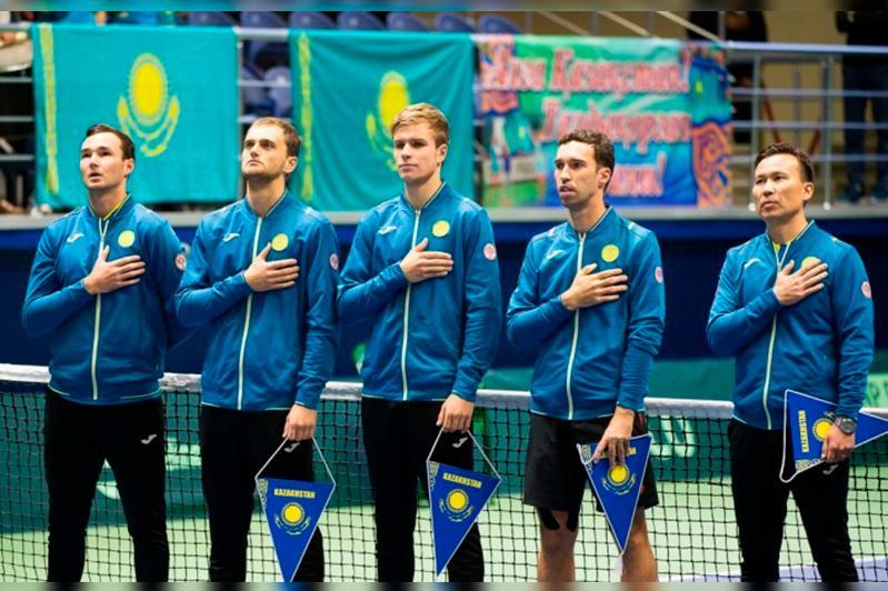 Кубок Дэвиса: Казахстан сыграет против Великобритании и Нидерландов