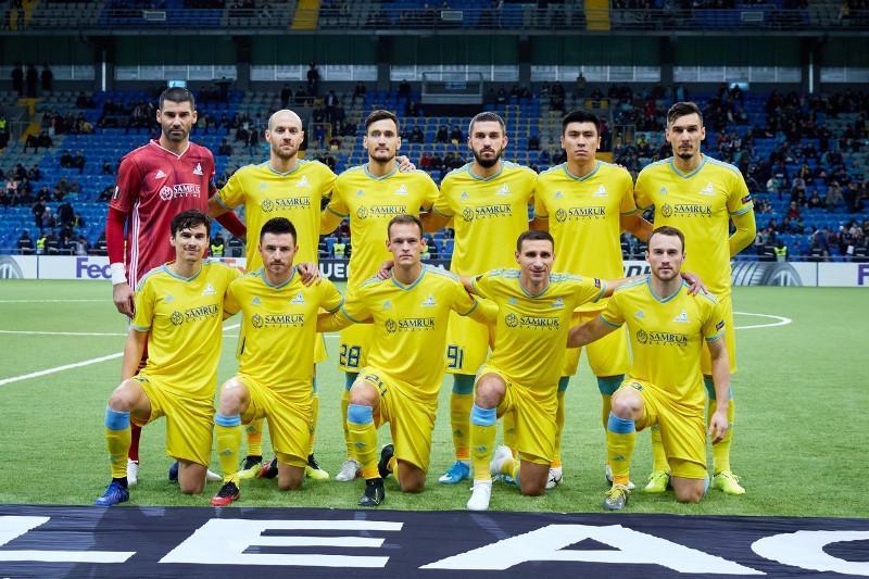«Астана» огласила заявку на матч Лиги Европы с «АЗ Алкмаар»