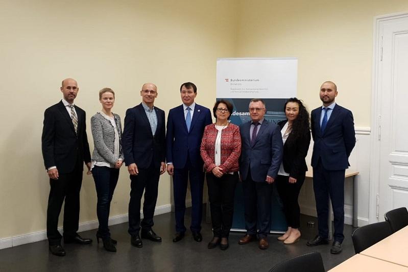 Казахстанские и австрийские борцы с коррупцией обменялись опытом