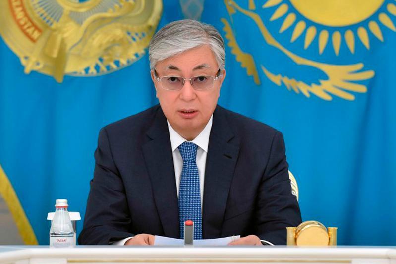 托卡耶夫总统向执法机构下达了工作任务