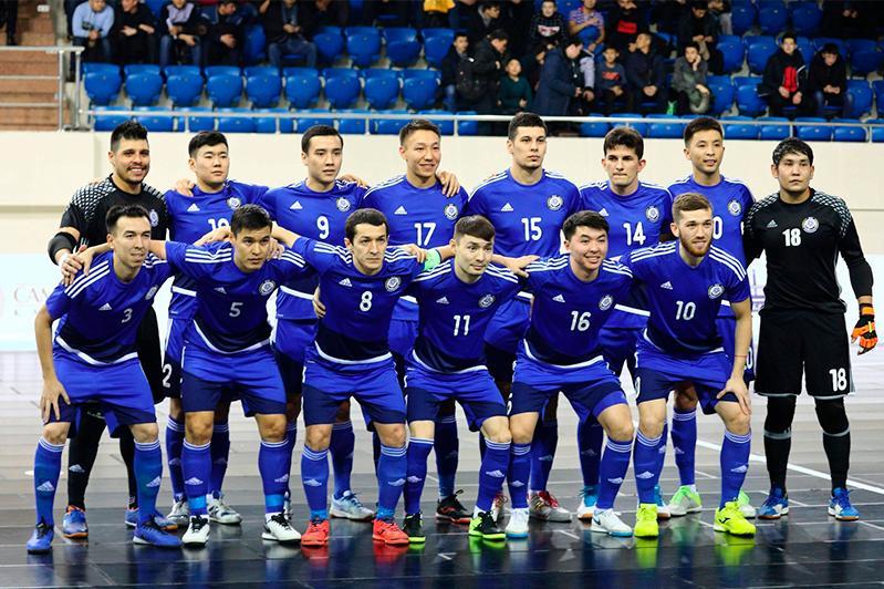 Назван состав команды Казахстана по футзалу на участие в квалификации ЧМ-2020