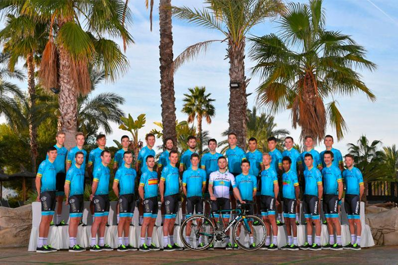 Astana Pro Team finished record season in Guangxi