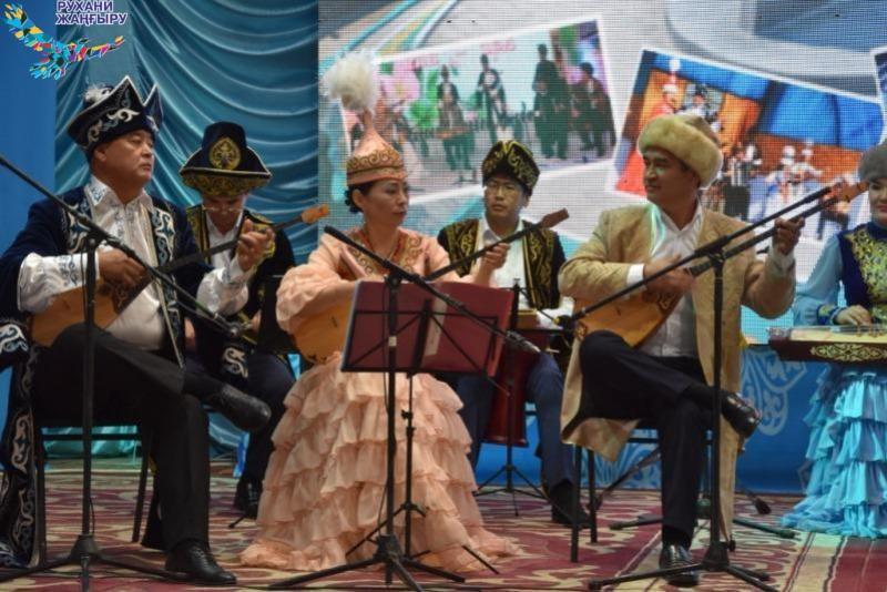 «Қорқыт сазы» фольклорлық халық ансамблі концерт берді
