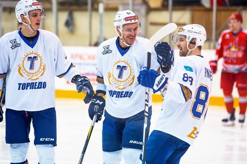 ХК «Торпедо» обыграл «Ижсталь» в матче ВХЛ