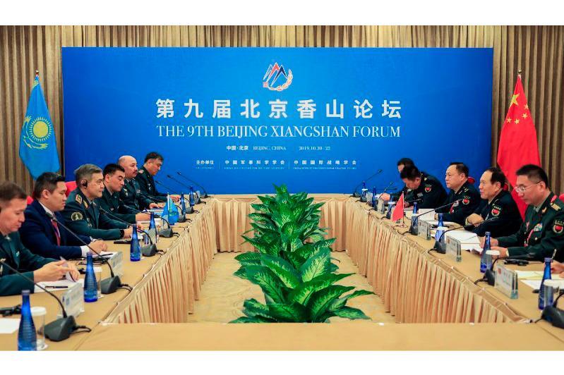 哈萨克斯坦国防部长在北京香山论坛发言