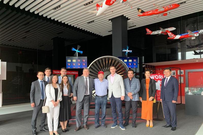 马来西亚亚洲航空拟向哈萨克斯坦开通新航班