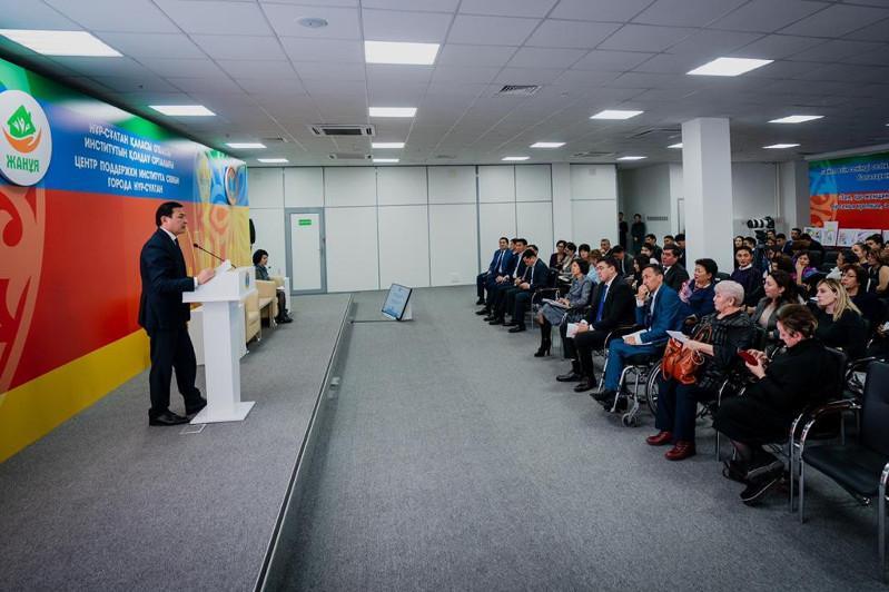 Алтай Кульгинов встретился с представителями НПО столицы