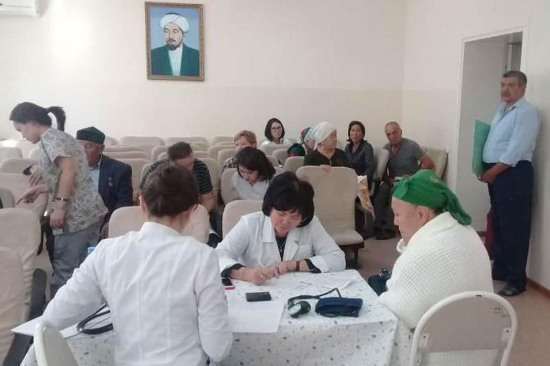 Түркістан облыстық ауруханасының неврологтары ашық есік күнін өткізіп жатыр