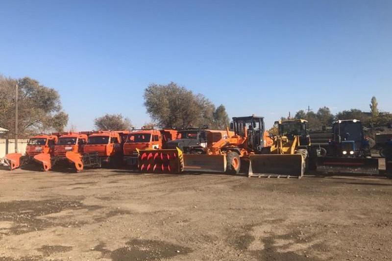 Түркістан облысында автожолдарды қысқа дайындау жұмысы пысықталды