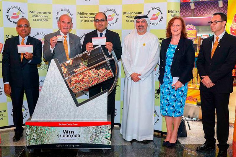 Indian, Kazakhstani win $1m each at Dubai Duty Free raffle