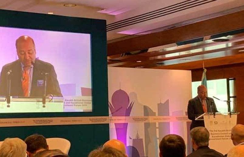 欧洲复兴开发银行行长赞扬哈萨克斯坦投资潜力