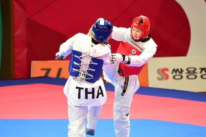 Kazakh taekwondo fighter wins big at Military World Games in Wuhan